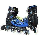 WeSkate Erwachsene Inline Skates Männer/Frauen Training Rollerblades Outdoor Speed Schnalle Einstellbare Medium/Large Größe (37-44)