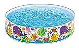 Quick- / Snapset-Pool Quickpool Snapset ca. 183 cm Ø Planschbecken Badespaß Schwimmbad für Kleinkinder Pool Planschbecken Kinderpool Babypool Baby Pool Schwimmingpool Kinderplanschbecken Meerestiere ca. 183 cm Ø Beim Fixpool ist kein Aufblasen erforderlich - einfach aufstellen, Wasser rein und fertig
