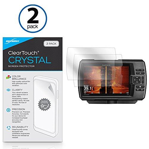 Garmin Striker 7SV dello schermo, ® [Boxwave Cleartouch cristallo (pezzi)] HD Display–protegge da graffi per Garmin Striker 7SV, 7DV