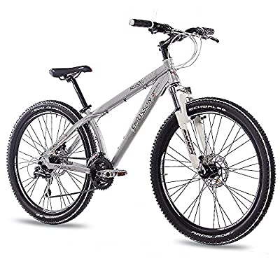 "26"" Zoll ALU MTB MOUNTAIN DIRT BIKE FAHRRAD CHRISSON RUBBY UNISEX mit 24G SHIMANO 2xDISK walumin matt"