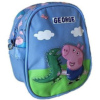 PEPPA PIG GEORGE Mini Bolso bandolera con George y Sr.Dinosaurio