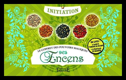 Le coffret des pouvoirs magiques des encens : Avec 5 sachets d'encens en grains et 10 pastilles de charbon par Jean de L'Hosanière
