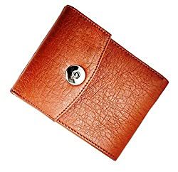 Wenzest Tan Mens Designer Wallets