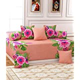 Decorista Diwan Set With Cushion Covers And Boosters