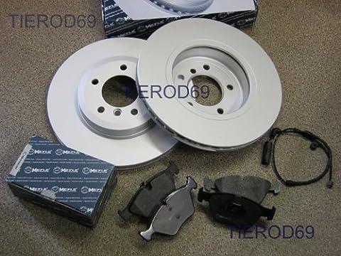 BMW E46 FRONT DISCS FRONT PADS FRONT PADS SENSOR 330i 330Ci 330D MEYLE C971