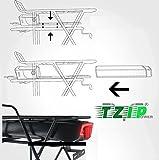 TZIPower 36V 14,5AH Gepäckträgerakku Samsung 29ET Trinkflaschenakku E-Bike Akku E Bike Elektrofahrrad Lithium Ionen Rahmenakku Umbausatz
