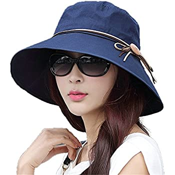 a97d4d423 Siggi Ladies Summer Bucket Cord Sun Hat Packable Wide Brim UPF50+ ...