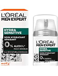 L'Oréal Men Expert Soin Hydratant Apaisant Peau Sensible Hydra Sensitive Visage Homme 50 ml