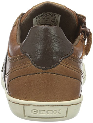 Geox Jungen Jr Garcia Boy B Low-Top Braun (Cognacc6001)