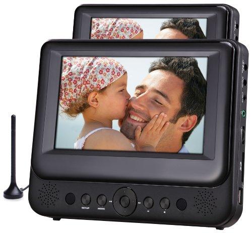 Odys Megaro Tragbarer DVD-Player/Televisor mit zusätzlichem