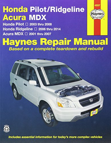 haynes-honda-pilot-ridgeline-acura-mdx-repair-manual-honda-pilot-2003-through-2008-honda-ridgeline-2
