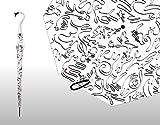 OFESS Designer-Schirm - Modell: Suction Mark - Farbe: white-black