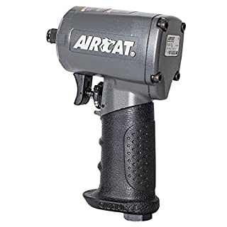 AIRCAT 1075-TH Compact Impact Wrench, Grey, 3/8-Inch