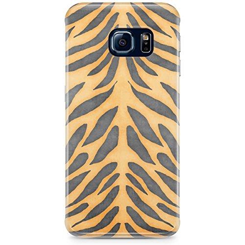 Queen Of Cases Coque pour Apple iPhone 5S-Imprimé tigre-Premium en plastique jaune