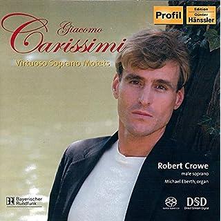 Carissimi: Virtuoso Soprano Motets [Import allemand]