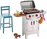 Barbie DVX48 Accessori Esterni Barbecue