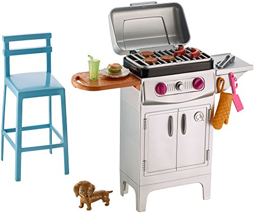 Barbie DVX48 Accessori Esterni Barbecue