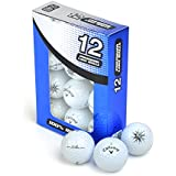 Second Chance Callaway Solaire Grade A Premium Lake Golf Balls (Pack of 12) - White