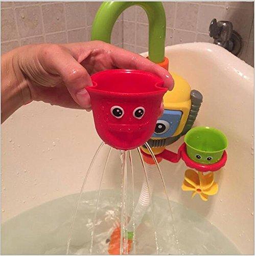 Baby Bath Shower Toys, Diver Spray Toys Spray Station Bathtub Toy   NO  Batteries No Power Need