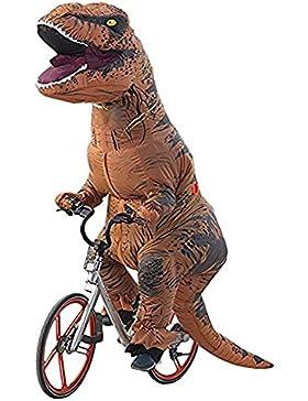 Ohlees® Men's T-Rex Inflatable Dinosaur Costume aufblasbare kostüme dinosaurier Anzüge und Kostüme festival party...