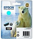Epson T2632 Tintenpatrone Eisbär XL, Singlepack cyan