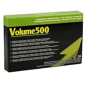 500Cosmetics 1 Volume 500 + Guide OnLine comprimés pour améliorer la qualité du sperme