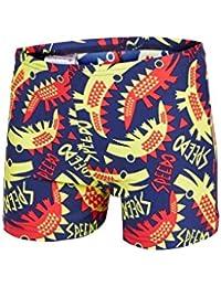 Speedo Unisex Baby Congobongo Essential Allover Aquashorts Badeanzug, Blau