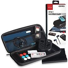 Super Kit Accesorios para Nintendo Switch ,incluye fundas de consola y Joy-Con,auriculares y protector de pantalla etc. 13pcs en 1
