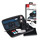 Leoie 13 in 1 Super Kit for Switch Game Joy-Con, Cases Earphone/Skin Protective Filter Bundle for Nintendo Wii U Switch