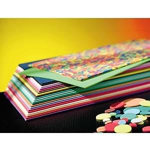 Set de 20 plaques de caoutchouc mousse souple 20x30cm, épaisseur 2mm, 20 couleurs assorties