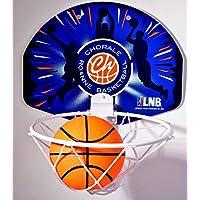 CHORALE ROANNE BASKET Mini Basket Panier de Basketball Mixte Enfant, Bleu
