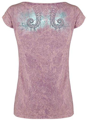 Full Volume by EMP Walk On Water Girl-Shirt Rosa Rosa