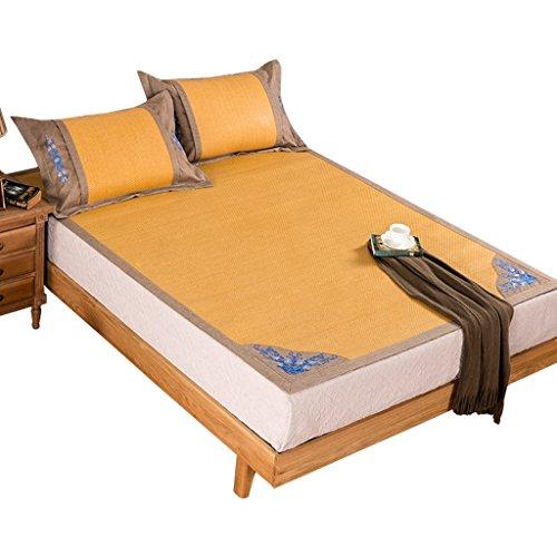 Liuyu · Plus épais siège de rotin de siège trois ensembles de lit de 1.8m d'été 1.5 mètres tapis pliable de soie de glace sûr et aucun glitch, approprié pour tous les tapis frais d'été d'âges/matela