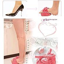 artans (TM) Cute delgado mitad Sole Zapatillas Coral Fleece bebé de zapato de zapatos de masaje para adelgazar piernas Pérdida de Peso Dieta interior Sapatos