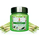 Aromakrafts Epsom Bath & Foot Spa Salt enriched with Pure Lemongrass Aroma - 250g