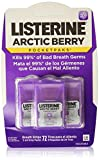 Listerine PocketPaks Breath Strips, Arctic Berry, 3 24-Strip Packs by Listerine Pocketpaks