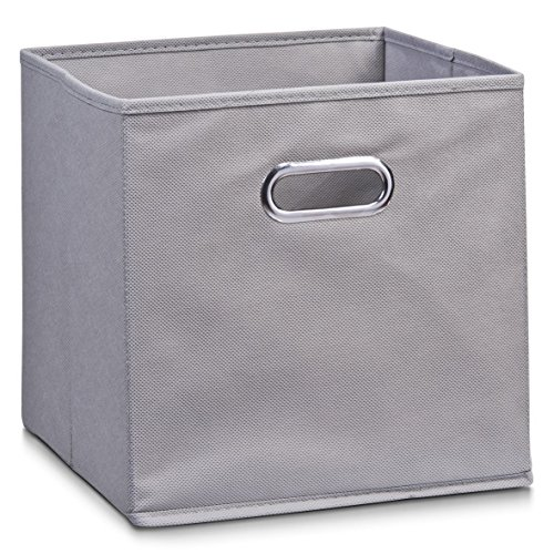 Schrankkorb Regalkorb Stoffbox Vlies in grau 32x32x32cm für IKEA Kallax expedit Dröna und anderen Farben zum auswählen