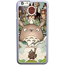 Generic iPhone 66S 4.7Inch Case, okl6238811Totoro Ambulant Voyage de Chihiro nausica DIY Cell Phone Case for iPhone 66S 4.7Inch White [with Free Tempered Glass Screen Protector For iPhone 66S 4.7Inch]