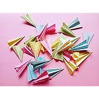 Bolsas de aviones de papel como confeti para boda (Pack de 20 unidades)
