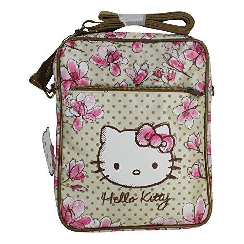Hello Kitty Magnolia Borsa Donna Tracolla Messenger a Spalla Porta Pc Tablet