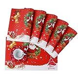 VEWEET 'Christmas' vajilla de Porcelana 18 Piezas | Plato para 6 Personas | Cada uno...