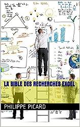 La Bible des Recherches EXCEL