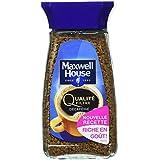 Maxwell House Qualité Filtre Décaféiné Bocal 100 g - Lot de 4