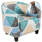 Vertvie Club Chair Stoelhoes, elastische stoelhoes voor clubstoel, loungestoel, cocktailstoel