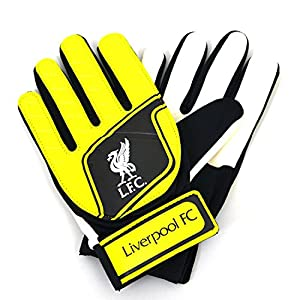 Liverpool FC Childrens Boys Official Football Crest Goalkeeper Gloves