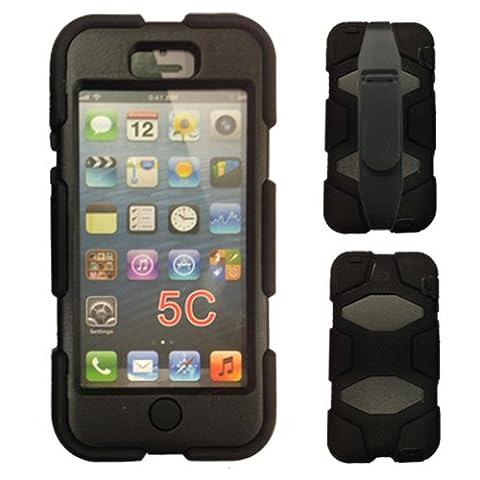 Apple iPhone 5c Housse Coque Rigide, Très Haute Protection Anti-Choc