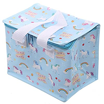 Unicorn Design Thermal Insulated lunch bag Cool Bag box with handles