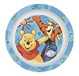 Winnie the Pooh Teller aus Melamin, blau