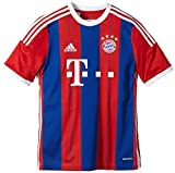 adidas Jungen Spieler-Trikot FC Bayern München Replica Heim, Fcb True Red/Collegiate Royal/White, 164, F48504