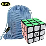 MoYu Weilong 3x3x3 Speed Puzzle Magic Cube Black With a MoYu Cube Bag MOYU weilong 3x3x3 velocidad Puzzle Magic Cube negro con un cubo de MOYU Bolsa